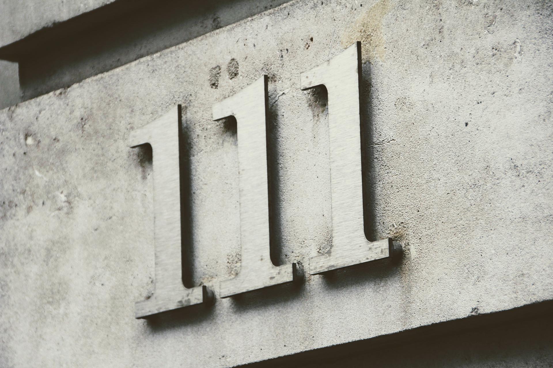 huisnummer bord